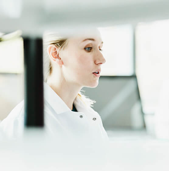 Careers and Opportunities at TriRx Pharmaceuticals - Person in Laboratory Image