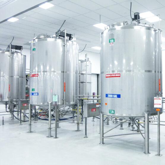 Non-Sterile Manufacturing Tanks - Pharmaceutical Facility - TriRx